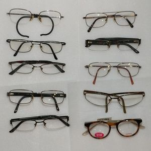 Lot of 10 Carrera Eyeglasses